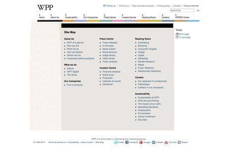 Sitemap - WPP