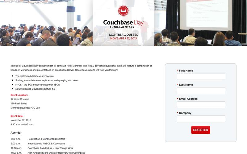Couchbase Day Montreal
