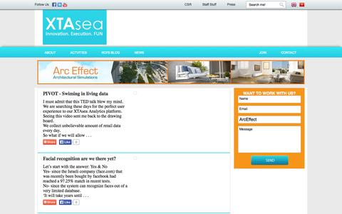 Screenshot of Case Studies Page xtasea.com - Case-study | Xtasea - captured Sept. 30, 2014