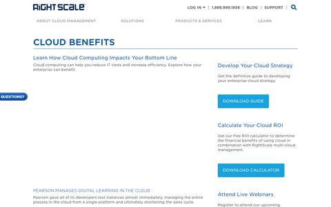 Learn About Cloud Benefits | RightScale