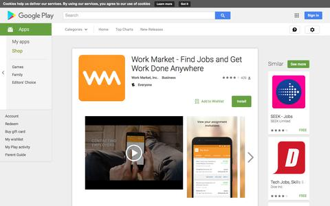 Work Market - Find Jobs and Get Work Done Anywhere - Android Apps on Google Play