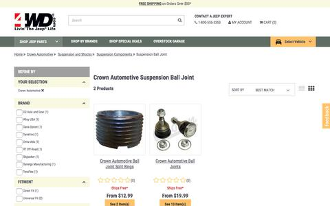 Suspension Ball Joint | 4WD.com