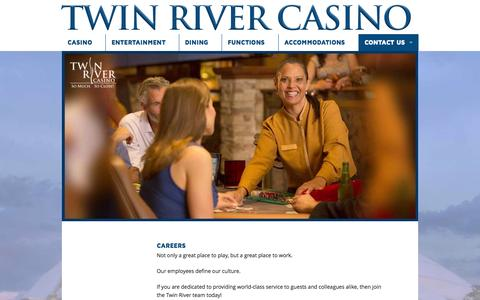 Screenshot of Jobs Page twinriver.com - Careers - Twin River Casino - captured Oct. 6, 2014