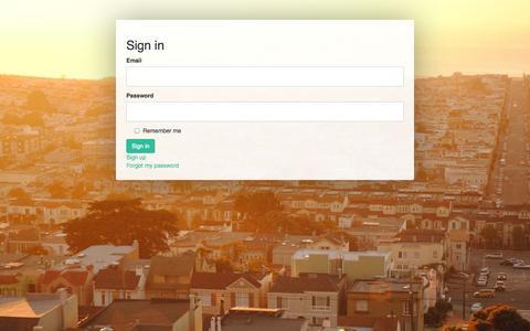 Screenshot of Login Page getoccasion.com captured Sept. 16, 2014