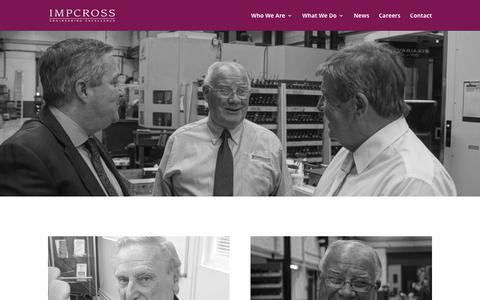 Screenshot of Team Page impcross.co.uk - Our People | Impcross - captured Oct. 11, 2018