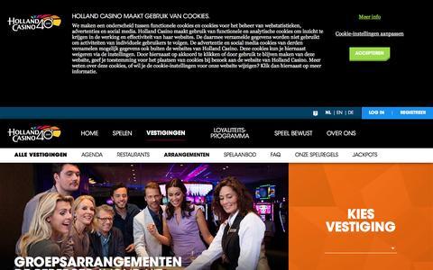 Arrangementen - Holland Casino