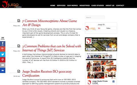 Juego Studios Blog