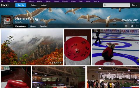 Screenshot of Flickr Page flickr.com - Flickr: tianocurling's Photostream - captured Oct. 26, 2014
