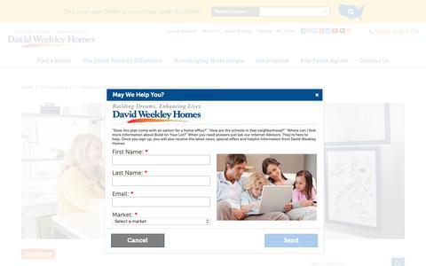 Screenshot of Support Page davidweekleyhomes.com - Customer Service | David Weekley Homes - captured Dec. 15, 2018