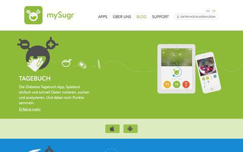 Diabetes Apps | Diabetes-Healthcare mit mySugr
