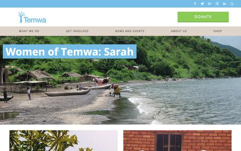 Screenshot of Case Studies Page temwa.org - Case Studies Archive - Temwa - captured Nov. 7, 2017