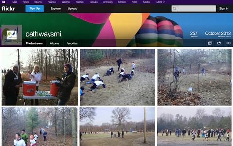 Screenshot of Flickr Page flickr.com - Flickr: pathwaysmi's Photostream - captured Oct. 22, 2014