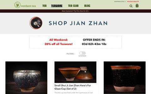 Jian Zhan | Verdant Tea