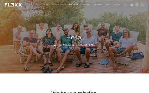 Screenshot of Jobs Page fl3xx.com - Meet FL3XX - FL3XX - captured Nov. 4, 2018