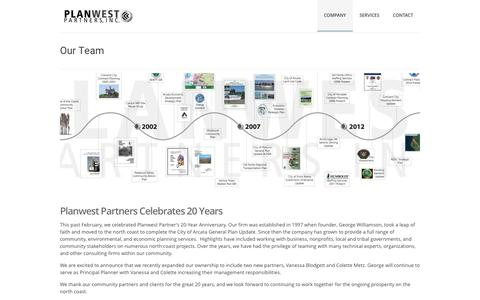 Screenshot of Team Page planwestpartners.com - Our Team - Planwest Partners - captured May 19, 2017