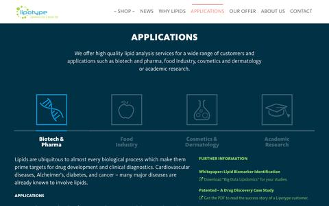 Screenshot of Case Studies Page lipotype.com - Case Studies - Lipotype GmbH - captured Sept. 29, 2018