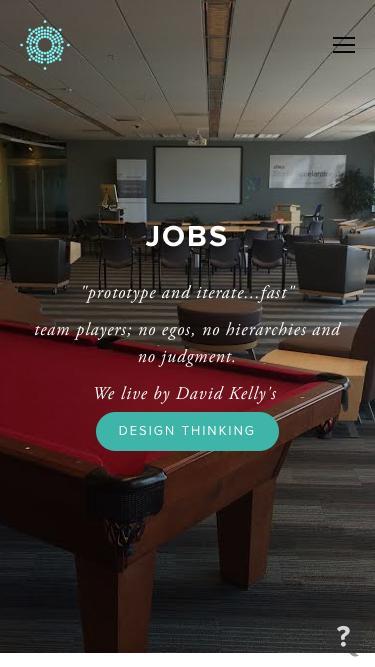 Screenshot of Jobs Page  3ten8.com - 3TEN8