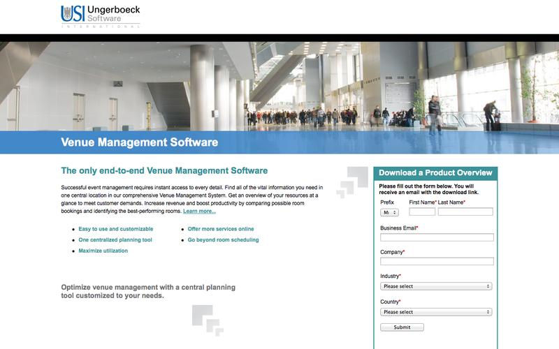 Venue Management Software | Ungerboeck Software International