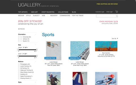 Original Sports Art for Sale   Ugallery