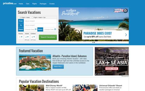Priceline: Deals on Airline Tickets, Vacation, Hotels, & Flights