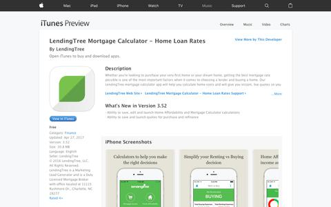 LendingTree Mortgage Calculator - Home Loan Rates on the App Store