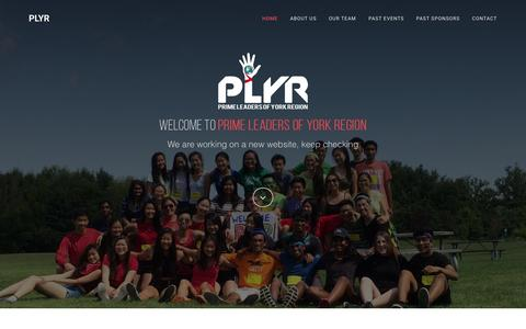 Screenshot of Home Page primeleaders.ca - Prime Leaders of York Region - captured Sept. 19, 2015