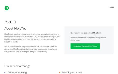 Media | Software & App Development Company | MojoTech