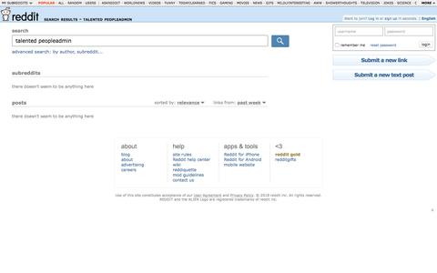 reddit.com: search results - talented peopleadmin