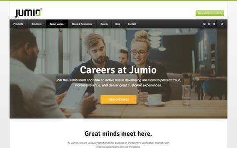 Careers at Jumio