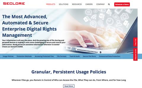 Enterprise Digital Rights Management| Seclore