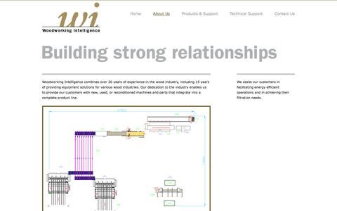 Screenshot of About Page woodworkingintelligence.com - Woodworking Intelligence - captured Oct. 26, 2014