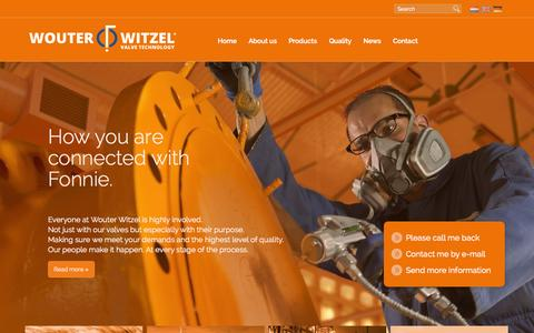 Screenshot of Home Page wouterwitzel.nl - Wouter Witzel - captured Jan. 30, 2015