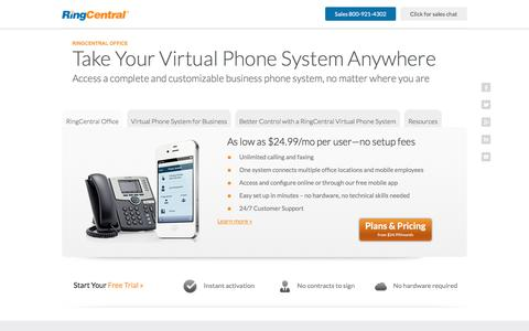 Virtual Phone System for Modern and Mobile Businesses