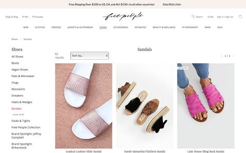 Fringe Sandals & Leather Sandals | Free People