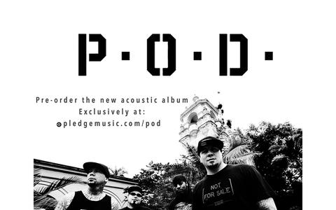 Screenshot of Home Page payableondeath.com - P.O.D. - MURDERED LOVE, THE NEW ALBUM. OUT NOW! - captured July 11, 2014
