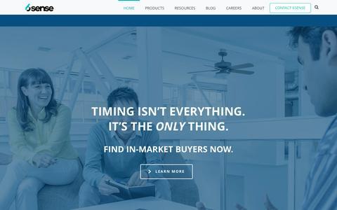 6sense: Predictive Intelligence Platform