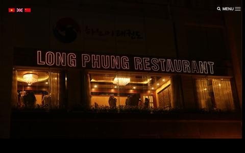 Screenshot of Menu Page longphung.vn - MENU (TIẾNG ANH)   Nhà hàng Long Phung - captured March 11, 2017