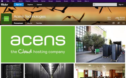 Screenshot of Flickr Page flickr.com - Flickr: acens' Photostream - captured Oct. 23, 2014