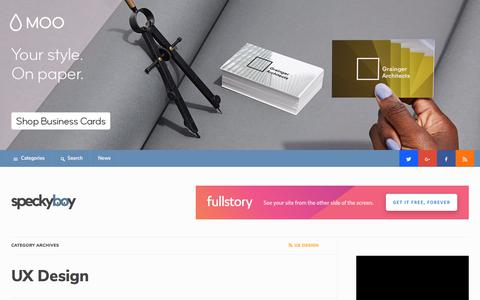 User Experience Design (UX) Articles, Tips & Discoveries