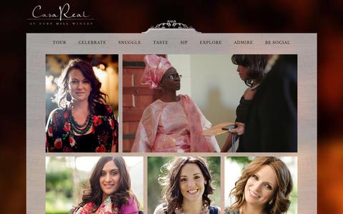Screenshot of Team Page casarealevents.com - Casa Real at Ruby Hill Winery | Our Team - captured Jan. 26, 2016