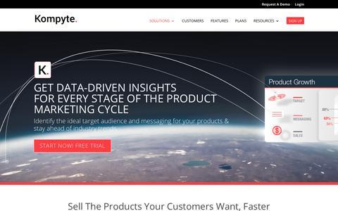 Product Marketing Competitive Intelligence Software – Kompyte | Kompyte