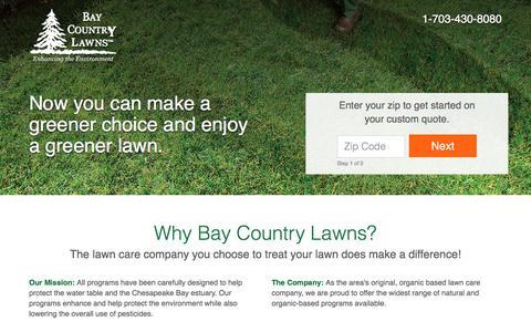 Screenshot of trugreen.com - ion marketing experience platform - captured Aug. 22, 2016