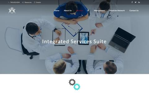 Screenshot of Services Page ctdmso.com - CONNECT THE DOCS | Our Services - captured Sept. 29, 2018