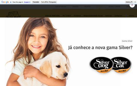 Screenshot of Home Page petsbest.pt - HomePage - SOJA DE PORTUGAL - captured Dec. 20, 2017