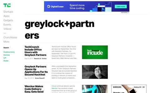"""Search results for """"greylock+partners"""" 
