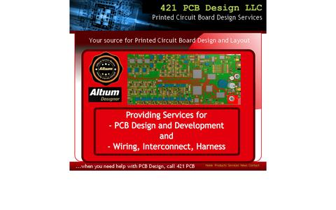 Screenshot of Products Page 421pcbdesign.com - Altium Designer Licenses, Software, Training and Consulting for Great Lakes area - captured Feb. 24, 2016