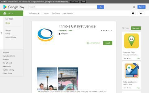 Trimble Catalyst Service - Apps on Google Play