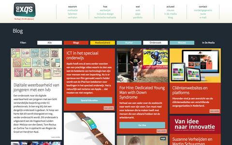 Screenshot of Blog noxqs.nl - NoXqs | Blog - captured Oct. 7, 2014