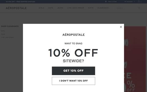 Clearance Clothing for Teens | Aeropostale