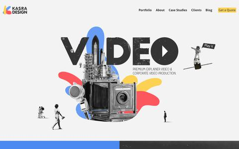Explainer Video & Animation Company - Kasra Design